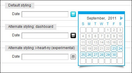 Calendar A Javascript class for Mootools