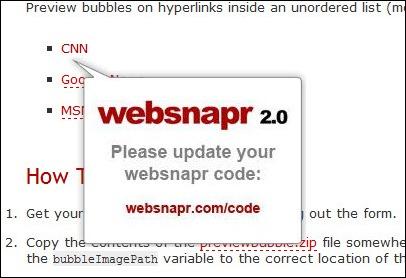 Preview Bubble Javascript v2.0