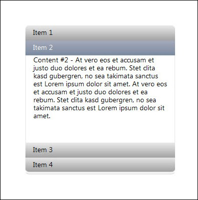HoverAccordion jQuery Plugin